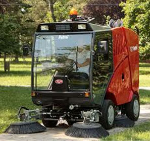 RCM Patrol Road Sweeper